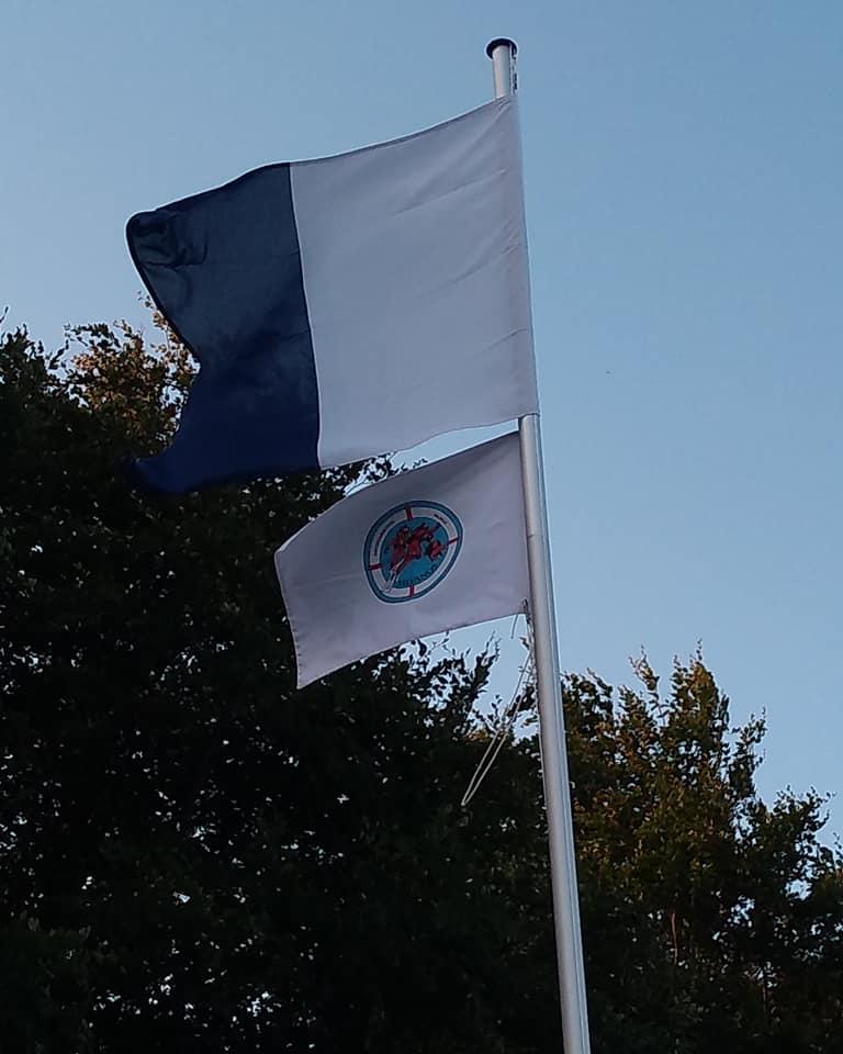 Hijsen van de vlag
