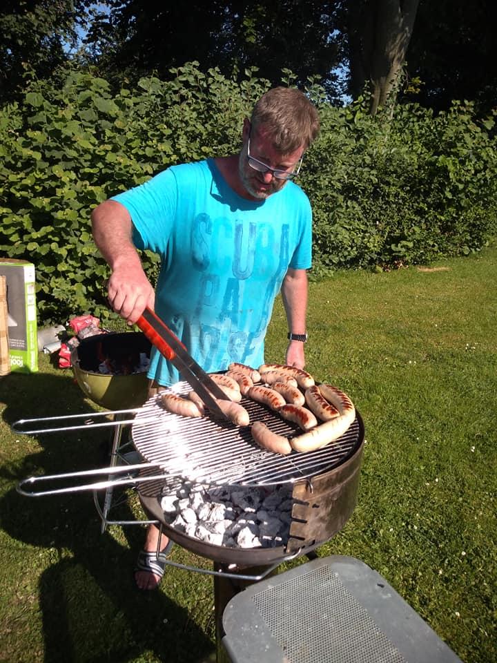 Chef kok BBQ